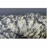 Gamas capsuladas nieve esculturas fotográficas