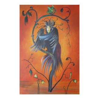 Gamaun: The Prophetic Bird Poster