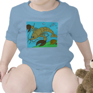 Gamba infantil del blanco de la enredadera traje de bebé