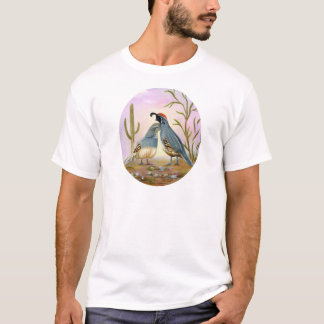 Gambel Quails T-Shirt