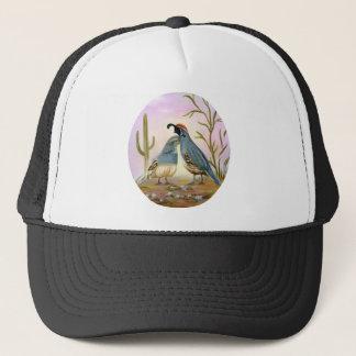 Gambel Quails Trucker Hat