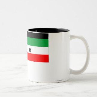 Gambella Flag Two-Tone Coffee Mug