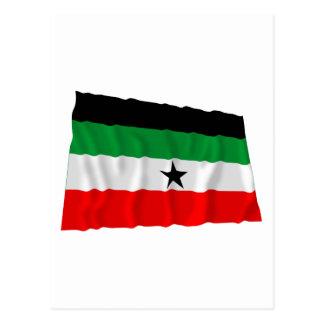 Gambella Waving Flag Postcard