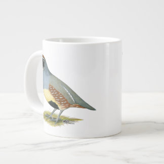Gambel's Desert Quail Large Coffee Mug