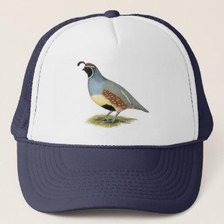 Gambel's Desert Quail Trucker Hat