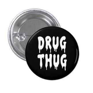 Gamberro de la droga del gótico de NU Pin Redondo 2,5 Cm