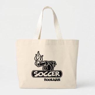 Gamberro del fútbol bolsa tela grande