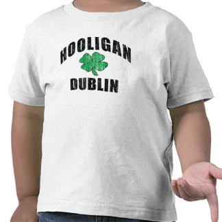 Gamberro irlandés Dublín Camisetas