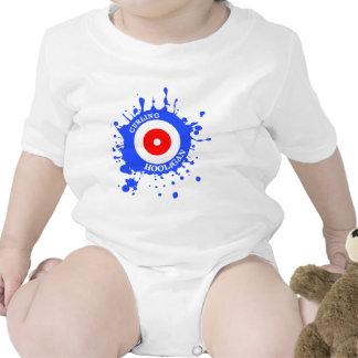 Gamberro que se encrespa traje de bebé
