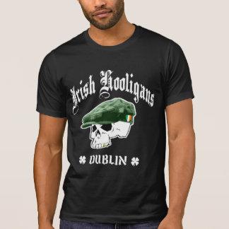 Gamberros irlandeses Dublín Irlanda Camisetas