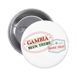 Gambia Been There Done That Button