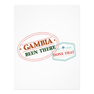 Gambia Been There Done That Letterhead