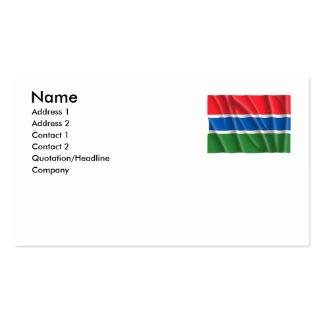 GAMBIA BUSINESS CARD