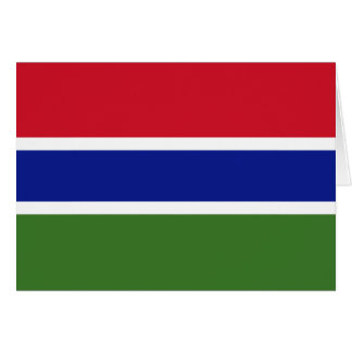 gambia greeting cards