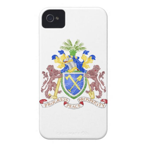 Gambia Coat Of Arms Blackberry Bold Case