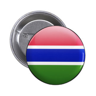 Gambia Flag Button