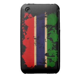 Gambia Flag Case-Mate iPhone 3 Case