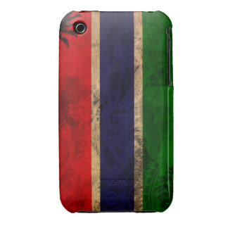 Gambia Flag Case-Mate iPhone 3 Cases