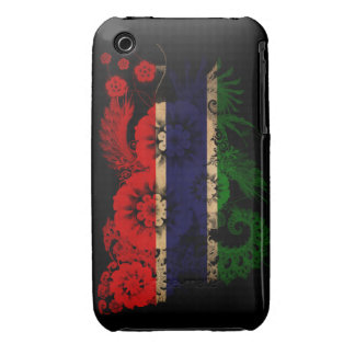 Gambia Flag iPhone 3 Case
