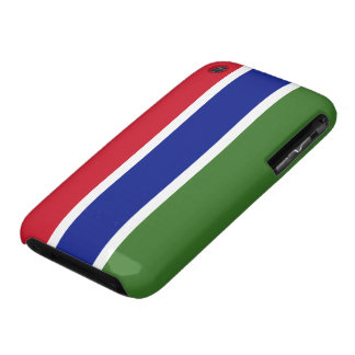 Gambia Flag iPhone 3 Covers