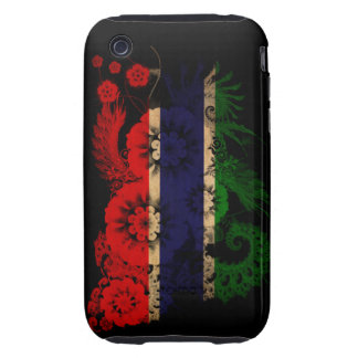 Gambia Flag iPhone 3 Tough Cases
