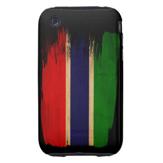 Gambia Flag iPhone 3 Tough Cover