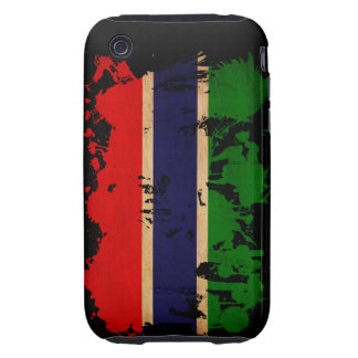 Gambia Flag iPhone 3 Tough Covers