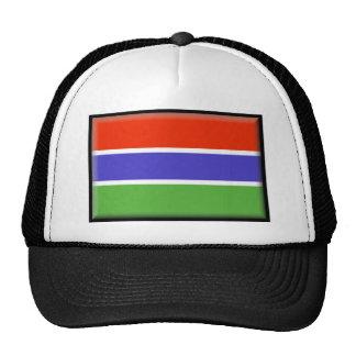 Gambia Flag Trucker Hat