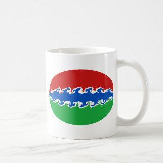 Gambia Gnarly Flag Mug