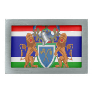 Gambia Hebillas Cinturon Rectangulares