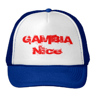 Gambia Nice Trucker Hat
