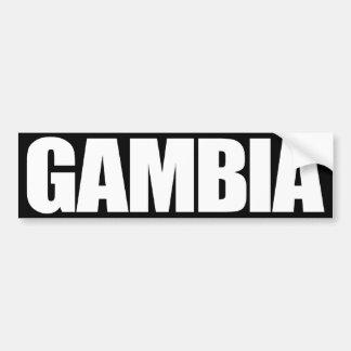 Gambia Pegatina Para Auto