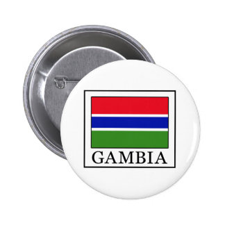 Gambia Pinback Button