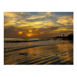 Gambia Sunset Postcard