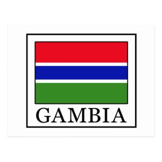 Gambia Tarjeta Postal