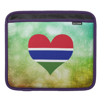 Gambiano hermoso mangas de iPad