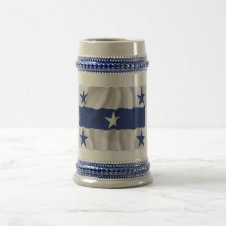 Gambier Islands Waving Flag Coffee Mugs