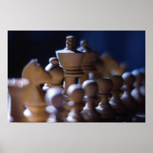 Gambit de rey póster