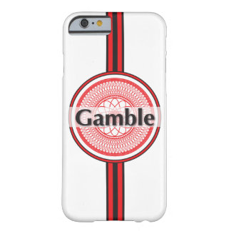 Gamble Barely There iPhone 6 Case