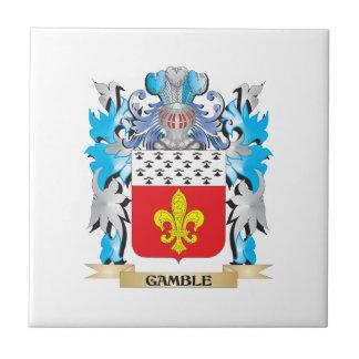 Gamble- Coat of Arms - Family Crest Ceramic Tiles