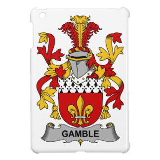 Gamble Family Crest iPad Mini Case
