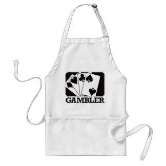Gambler - Black Adult Apron