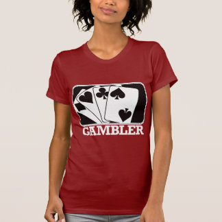 Gambler - Black and White T-Shirt