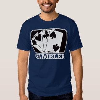 Gambler - Black and White T-shirt