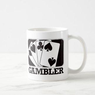 Gambler - Black Coffee Mug