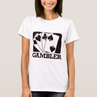Gambler - Black T-Shirt