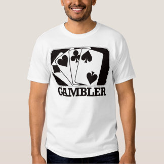 Gambler - Black T-shirt