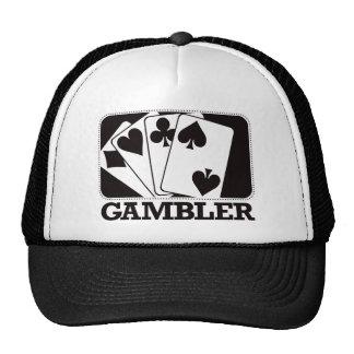 Gambler - Black Trucker Hat