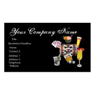 Gambler Business card fully customizable