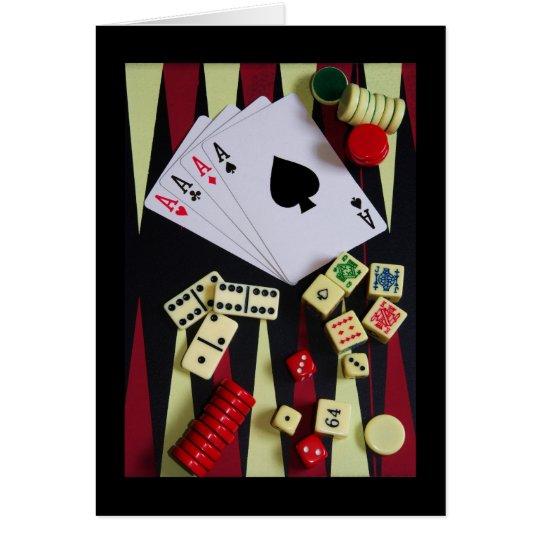 gambler card